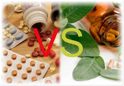 Альтернативные природные методы лечения VS медикаментозные